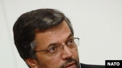 Yunos Qanuni, speaker of the Afghan parliament