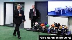 Петро Порошенко вранці 5 квітня здав аналізи у медпункті НСК «Олімпійський» у Києві