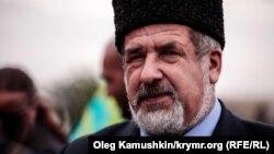 Қырым татарлары Меджлисінің басшысы Рефат Чубаров. Симферополь, 18 мамыр 2014 жыл.