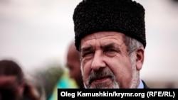 Глава меджлиса крымских татар Рефат Чубаров. Симферополь, 18 мая 2014 года.