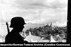 Нацистський вартовий у Києві, 19 вересня 1941 року