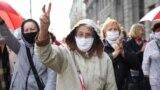 Марш пэнсіянэраў у Менску 5 кастрычніка. Ілюстрацыйнае фота.