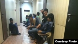 Uzbekistan/Russia - Central Asian migrants in the department of the Federal Migration Service of the North Eastern District of Moscow city