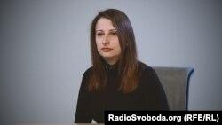 Анна Гвоздяр, волонтерка у Центральному військовому шпиталі у Києві