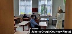 """Foto nga shkolla """"Faik Konica"""" në Prishtinë."""
