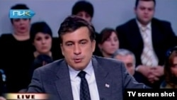 Грузискиот претседател Михаил Сакашвили