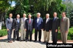În compania liderului PCRM