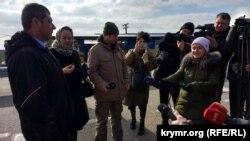 Админграница с Крымом, 21 февраля 2018 года