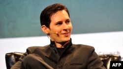 Pavel Durov, the CEO and co-founder of Telegram (file photo)