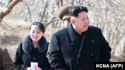Sestra i brat, Kim Yo-jong i Kim Jong-Un