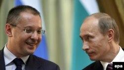Vladimir Putin şi Sergei Stanishev
