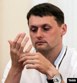 Дмитрий Донсков во время оглашения приговора в Кировском районном суде Ярославля, август 2016 года