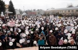 Протесты в Волоколамске