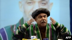 Afghan Vice President Abdul Rahid Dostum