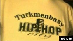 """""""Türkmenbaşy Hip Hop"""" ýazylan ýazgy"""