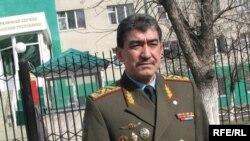 Задержанный председатель пограничной службы Замир Молдошев.