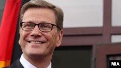 Германскиот министер за надворешни работи Гидо Вестервеле