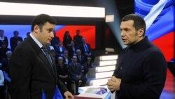 """Лицом к событию. Хинштейн, Соловьев и канал """"Звезда"""": кампания вместо дискуссии"""