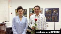 Аляксей Хацкевіч укіеўскай галерэі Educatorium