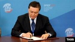 Қазақстан премьер-министрінің орынбасары Асқар Мамин.