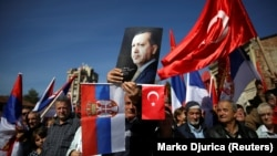 Doček Erdogana u Novom Pazaru 2017. godine