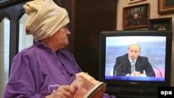 С Путиным и гладится легче