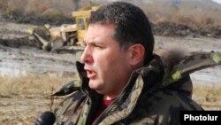Armenia - Environment Minister Aram Harutiunian.