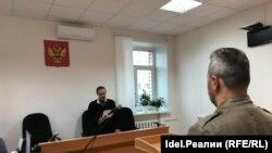 Фотография с заседания суда