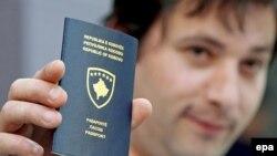 Kosovski pasoš, arhivska fotografija