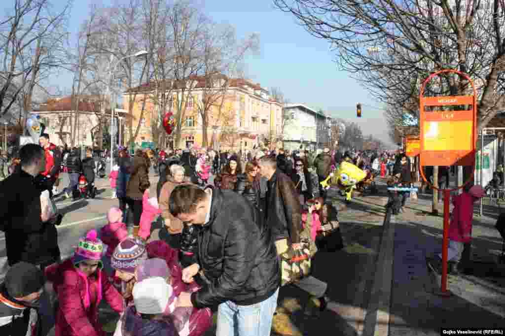 Proslava dječije Nove godine u Banjaluci