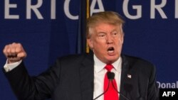 Controversial Republican presidential candidate Donald Trump has outraged many with his campaign comments, particularly with respect to minorities such as Mexicans and Muslims.