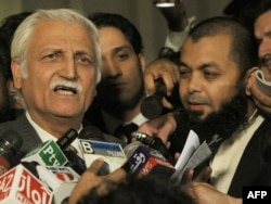 """Our basic aim is to empower the parliament to be able to make laws for the FATA."" -- Farhatullah Babar"