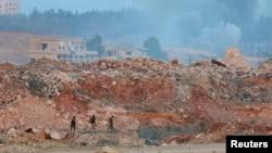Боевики группировки «Фатех аль-Шам» — сирийского ответвления «Аль-Каиды». Иллюстративное фото.