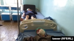 دو تن از زخمی های حمله انتحاری امروز شهر غزنی
