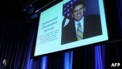 покојниот американски амбасадор во Либија Кристофер Стивенс