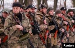 Боевики чеченского батальона «Смерть признают, что они – российские солдаты и офицеры спецслужб, но называют себя «добровольцами»