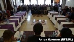 Заседание «Крымской солидарности». Старый Крым, 28 октября 2017 года