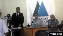 İctimai Palatada dinləmələr, 31 iyul 2012