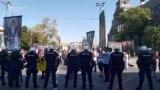 Privođenja na protestu protiv Prajda u Beogradu