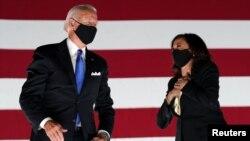 Joe Biden și Kamala Harris, candidații democrați în alegerile prezidențiale americane din noiembrie, 20 august 2020