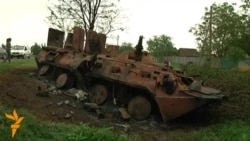 Residents Describe Fighting Near Kramatorsk