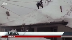 Deadly Snow In Serbia