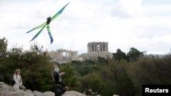 Պարթենոնի հելլենիստական տաճարը, Աթենք, Հունաստան, 15 մարտի, 2021թ.