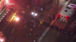 Unrest In Portland On Second Night Of Anti-Trump Protests
