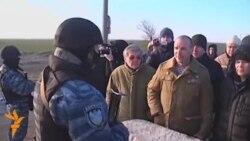 Стрельба на крымской границе