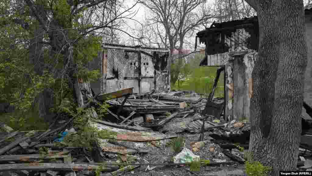 Многие здания за минувшие шесть лет пострадали в пожарах