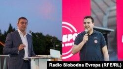 Христијан Мицкоски и Зоран Заев