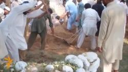Похорони і протести після вибуху в Пакистані