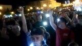 Митинг в Хабаровске в воскресенье вечером