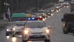 Антикорупційний автопробіг влаштували у Сумах (відео)